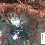 El volcán Sabancaya se mantiene en alerta naranja