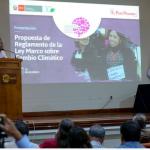 Minam presentó propuesta del reglamento de la Ley Marco sobre Cambio Climático