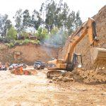Ayacucho: Inspeccionan asfaltado de la vía Tambo-San Miguel