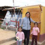 Junín: Acondicionan viviendas térmicas con energía solar para familias de pobreza extrema
