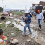 Junín: Entregan ayuda por inundación en distrito de Chilca