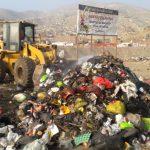 Recogen 100 toneladas de basura acumulada en vías de Manchay