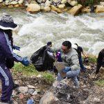 Áncash: recogen 15 toneladas de residuos sólidos en río Quillcay