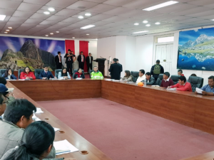 Cusco: Minam supervisa acciones de apoyo en zonas de desastres