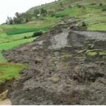 Evalúan daños tras afectaciones por huaico en Huancavelica