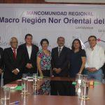 Impulsan consolidación de la Mancomunidad regional del Nororiente
