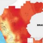La temperatura más alta a nivel nacional se presentó en San Martín