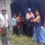 Cusco: Entregan ayuda a damnificados por huaico en Kimbiri