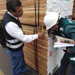 En 2018 Serfor decomisó un equivalente a 76 camiones de madera