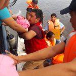 Evacuan a joven madre y bebe desde el BAP Yahuas al Hospital Regional de Loreto