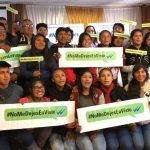 Huancavelica: Unicef lanzó campaña de adolescentes #NoMeDejesEnVisto