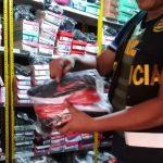 Incautan 313 pares de zapatos en centro comercial de Puerto Maldonado