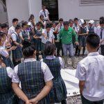 San Martín: Capacitan sobre cuidado del medio ambiente, calidad del agua y calentamiento global