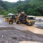 Se realizan trabajos para habilitar el tránsito en el tramo Huánuco – Tingo María