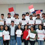 MTPE capacitó a jóvenes cusqueños para trabajar en el sector construcción