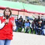 """Ministra Bustamante: """"Sentaremos las bases de un desarrollo real de Cotabambas»"""