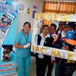Huancavelica: Diresa realizó campaña de vacunación contra influenza y neumonía