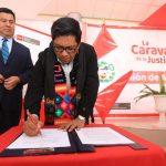Huancavelica: Suscriben compromiso de integridad y lucha contra la corrupción