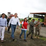 Ministra Jara dispuso acciones para regularizar transitibilidad en Yurimaguas