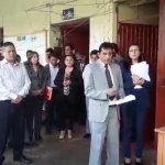 Toman local de la Red de Salud Centro Ayacucho