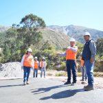 Ayacucho: Asfaltado de carretera Tambo-San Miguel con 50% de avance