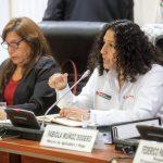 Ministra Fabiola Muñoz presentó avances de las mesas técnicas ante el Congreso