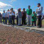San Martín: Devida entrega «cheque del desarrollo» a Municipalidad Distrital de Pólvora