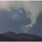 Arequipa: Volcán Sabancaya se mantiene en alerta naranja