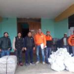 Dan ayuda humanitaria a damnificados por desplazamiento de masas en Huánuco