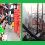 Entregan ayuda a familias damnificadas por incendio urbano en Loreto