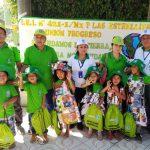 Escolares promueven conciencia ambiental ambiental en el Vraem