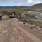 Inician mantenimiento periódico de carretera que une Huancasancos y Lucanas