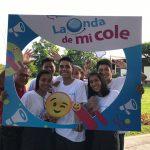 Escolares de Iquitos y Huancavelica se ponen la camiseta de «La onda de mi cole»