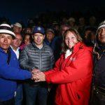 Ministra Bustamante destacó avances de acuerdos por desarrollo de zona de influencia del corredor minero