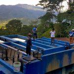 Monitorean sistema de saneamiento y agua potable en el Vraem