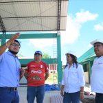 Vicegobernadora regional de San Martín verifica avance de obras