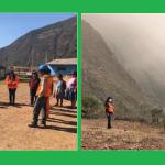 Brindan asistencia técnica para evaluar daños por deslizamiento en Apurimac