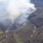 Extinguen incendios forestales registrados en cuatro departamentos