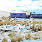Junín: Prosigue la entrega de ayuda humanitaria ante bajas temperaturas