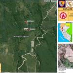 Extinguen incendio forestal registrado en Amazonas