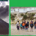 Indeci continúa monitoreo de acciones tras nueva explosión de volcán Ubinas