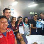 Loreto: Nuevo compatriota nació a bordo del buque auxiliar Yahuas