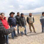 Ministra Muñoz lidera visita a lagunas Aricota, Vizcachas y Suches para conocer problemática hídrica