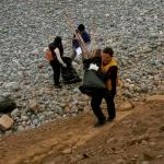 Recogen cinco toneladas de basura marina en playas de Costa Verde y Ancón