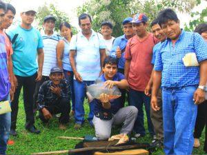Agricultores son capacitados en crianza de animales en Huánuco
