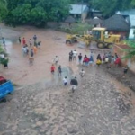 Realizan limpieza por inundaciones en Cajamarca y San Martín