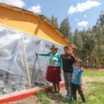 """""""Casitas calientes"""" para 138 familias de las zonas altas de Apurímac"""