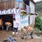 Junín: Ayuda humanitaria para damnificados por deslizamiento en Perené