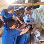 Loreto: Destacan atenciones médicas en el Buque Auxiliar Pastaza