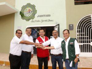 Tumbes: Impulsarán convenio para promover desarrollo agropecuario
